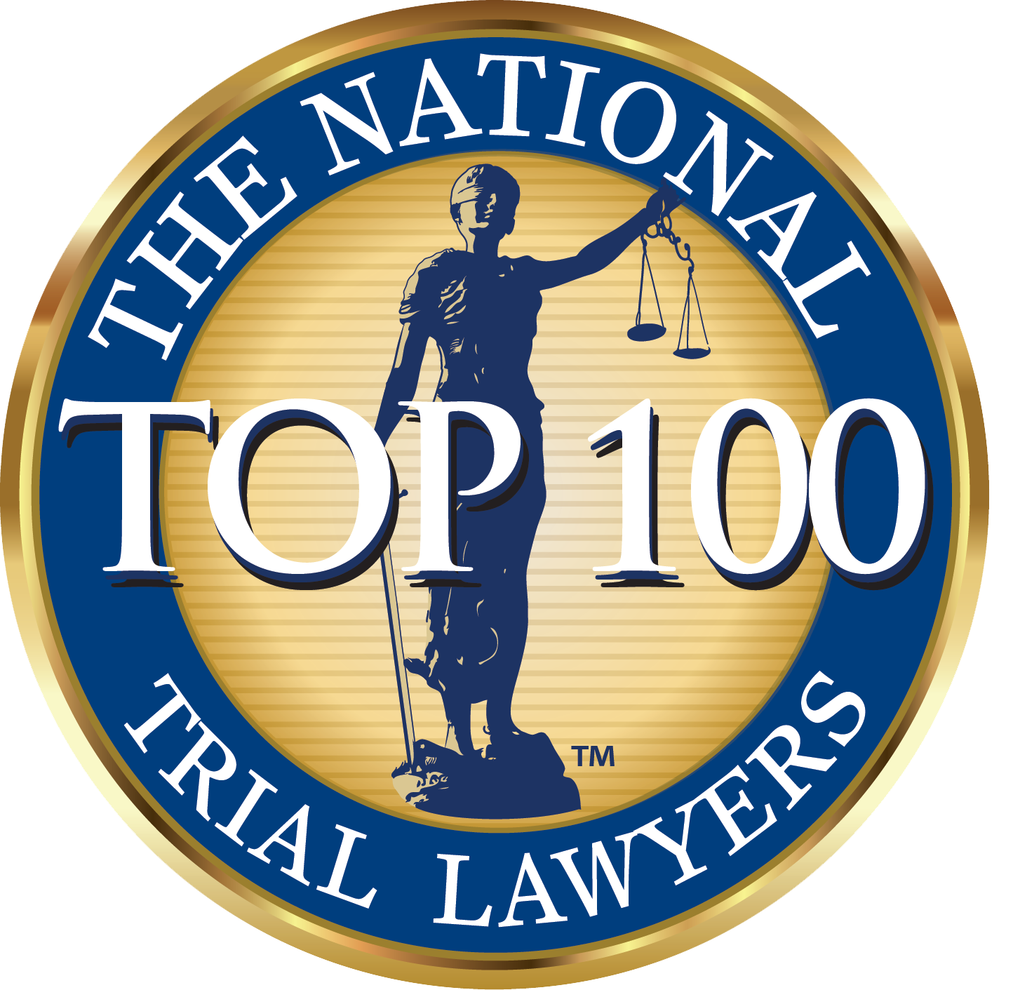 The National Trial Lawyers Trial Top 100 Lawyers logo